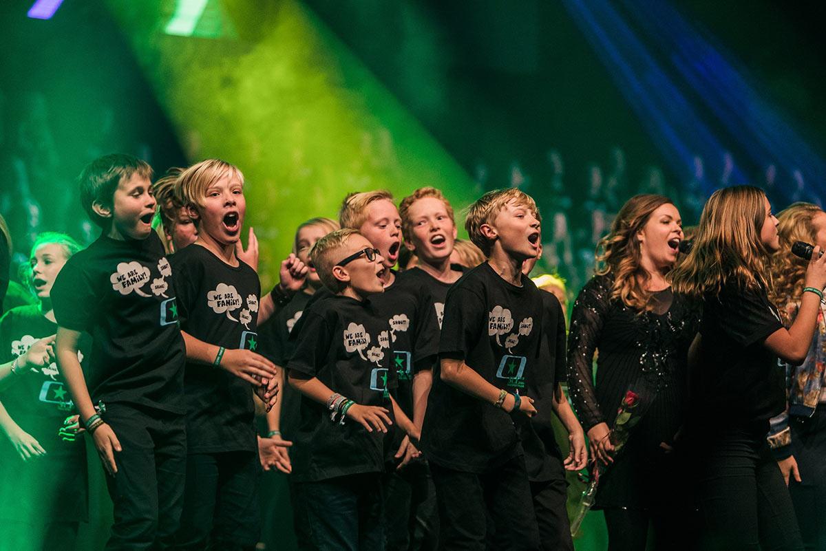 Soul Children på scenen under festivalen i 2016